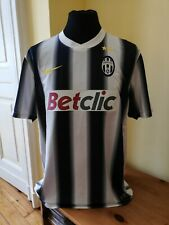 Maglia Juventus DEL PIERO 10 shirt maillot 2010/2011 Nike jersey trikot L