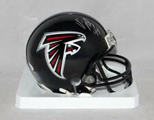 Vic Beasley Autographed Atlanta Falcons Mini Helmet- JSA Witnessed Auth