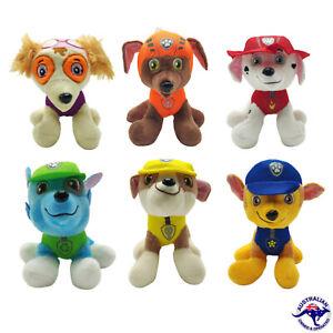 Paw Patrol Plush Pup Pals Skye ZUMA ROCKY 20cm Plush Toy Stuffed Toy AU Paw patr