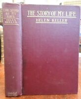 Story of My Life 1903 Helen Keller autobiography 1st ed. illustrated nice book