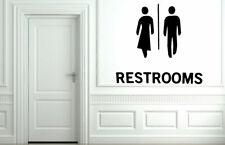 Wall Decal Sticker Bedroom man woman restroom bathroom boy girl funny bo2674
