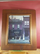 SILVER SLIPPER GRILL NORMAN ROCKWELL AMERICAN ARTIST PRINT CANADIAN FRAME