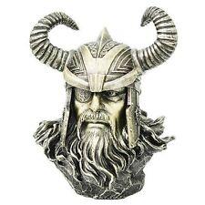 Norse Mythology Alfather Odin Asgard Ruler Bust Figurine Sculpture Viking Statue