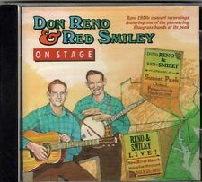 On Stage ~ Don Reno & Red Smiley ~ Bluegrass ~ Country ~ CD ~ New