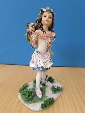 CHRISTINE HAWORTH FAERIE POPPETS 'SPRING PANCY FAERIE' LEONARDO COLLECTION