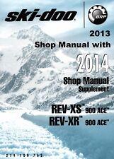 DIGITAL 2014 Ski-Doo REV XS XR 900 ACE Renegade MK Z Grand Tour service manual