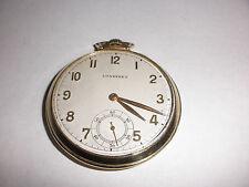 Vintage Longines 14k Solid Gold 17 Jewel Pocket Watch  Open Face working