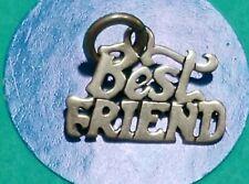 Charm R27 Best Friend Sterling Silver Vintage Bracelet