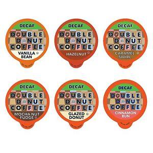 Decaf Flavored Coffee Variety Pack 6 Traditional Flavors Keurig K Cups 72 Count