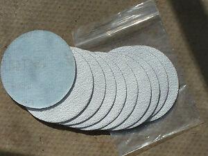 "Sanding Discs 3"" / 75mm  Hook and Loop All Grits Pack of 10"