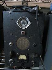 VINTAGE TUBE RADIO TESTER APPLICATION  GLOWS GREEN ON