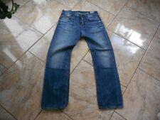 H8321 G-Star Straight Jeans W32 L32 Mittelblau  mit Mängeln