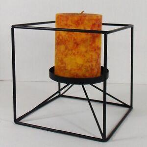 Black Box Pillar Candle Holder/Pier 1