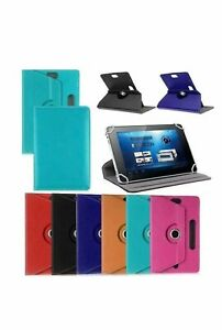 "Hot 360° Folio Leather Case Cover Stand For Android Tablet PC 7"" 8"" 9"" 10"" 10.1"""