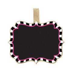 Chalkboard Clips Mad Hatter Tea Party Alice in Wonderland Fancy Dress 400132