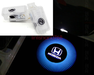 2x For Honda Civic 2006-2011 LED Laser Door Logo Ghost Shadow Projector Lights