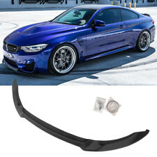 Front Splitter For 2015-20 BMW F80 M3 F82 F83 M4 CS Club Sport Style Matte Black