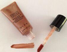 AVON Perfectly Portable Lip Gloss BRONZE lot of (5) New Shine Moisturizing