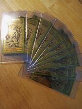 2020 Utah Goldback Note Lot Singles Ten (10) total! Gold Coin / Bullion!