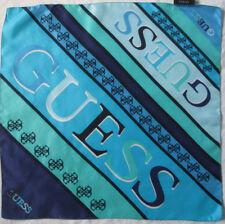 eb2400ea7c8 -Superbe Foulard tour de cou GUESS soie TBEG vintage 51 x 51 cm