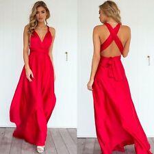 BNWT Angel Biba Stunning Satin Multiway Gown Bridesmaid Dress 6 8 10 12 14- SALE