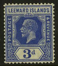 Leeward Islands  1921-32  Scott # 71a  Mint Very Lightly Hinged