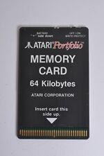 ATARI PORTFOLIO MEMORY 64KB