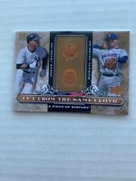 2008 A Piece of History Cut from the Same Cloth /799 Derek Jeter Michael Young