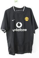 NIIKE Manchester United #7 RONALDO Black Football Shirt size M