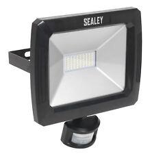 Sealey led088 Proyector Con Pared Soporte & Sensor PIR 50w SMD LED 230v