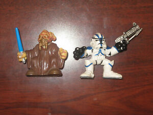 Playskool Plo Koon and 501st Clone Trooper