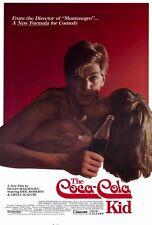 THE COCA-COLA KID Movie POSTER 27x40 Eric Roberts Greta Scacchi Bill Kerr Chris