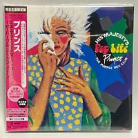 Prince His Majesty's Pop Life Japan Mini LP CD Limited Edition The Purple Mix