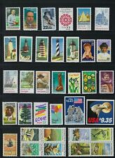 USA collection: 295 different in sets incl. $9.35 & $8.75 FACE VALUE, most NH