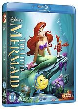 THE LITTLE MERMAID [Blu-ray Disc] (1989) Disney Classic Animated Movie Ariel