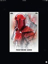 STAR WARS CARD TRADER - THE LAST JEDI - PREMIERE PORTRAITS - PRAETORIAN GUARD