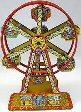 Hercules Tin-Plate Mechanical Ferris Wheel by J. Chein & Co. | #172 | WORKING