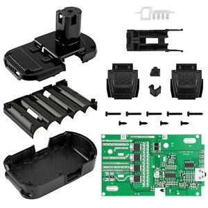 Battery Protect PCB Board Plastic Case Box Replace for RYOBI 18V /P103/P108 Kit