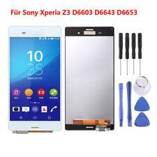 Blanco Para Sony Xperia Z3 D6653 D6603 Pantalla LCD Touch Digitalizador Parte RH