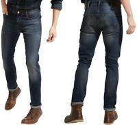 Wrangler Herren Jeans Hose Larston Flip Side Blau W32