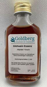 Glühwein Essenz Mandel Kirsch natürliches Aroma - Rotwein & Likör 500 ml