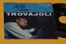 """ARMANDO TROVAJOLI 7"""" 45 LADY LUNA ORIG ITALY JAZZ 1960 EX TOP RARE !!!!!"""
