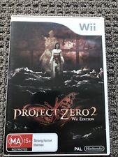 Nintendo Wii Project Zero 2 Wii Edition