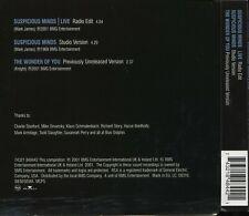 Elvis Presley - Suspicious Minds (Live). 3 track CD single.
