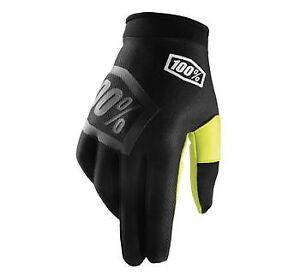 100% iTrack Gloves Incognito 2XL 951218  MX Motocross ATV UTV