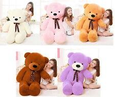 32''/39''/47'/56'' Giant Big Cute Plush Stuffed Teddy Bear Soft Toy doll gift