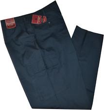Pantalone uomo taglie forti 3XL 4XL 5XL 6XL 7XL  cotone leggero blu Comfort OVER