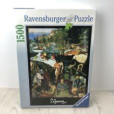Ravensburger 1500 Puzzle -  Paul Cezanne Impressionists MasterPieces NEW RARE