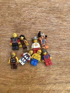 7 X LEGO Mini Figures Job Lot Bundle Minifigures Mixed Mechanic City Police