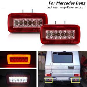 Led Rear Bumper Fog Reverse Light For Mercedes Benz W463 G500 G550 G55 AMG 86-15